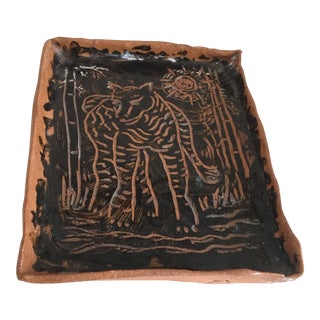 Primitive Studio Artisan Animal Tray
