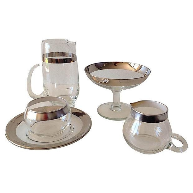 Image of Dorothy Thorpe Assorted Service Ware - Set of 5