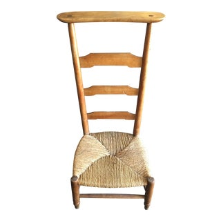 Scottish Rustic Prayer Chair