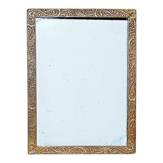 Miniature Gilt Bronze French Frame