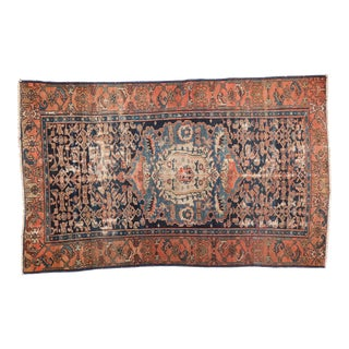 Antique Malayer Rug - 4' x 6'4""