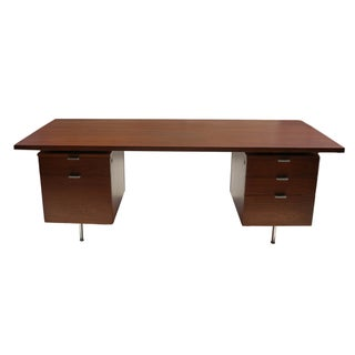 Mid-Century Executive Desk Herman Miller