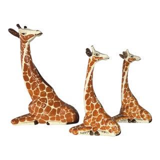 1960s Italian Giraffes - Set of 3