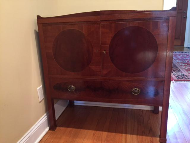 Expandable Antique Sideboard Buffet   Image 2 Of 8