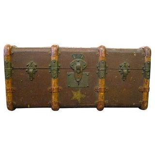 Vintage Suitcase With Original Stickers
