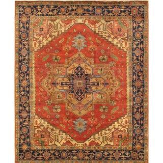 """Pasargad Serapi Wool Area Rug - 8' 1"""" X 9'10"""""""