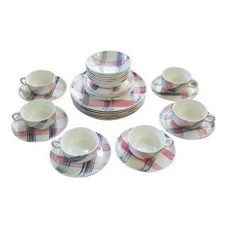 Vintage Stetson Scots Clan Dinnerware Set - 29 Pieces