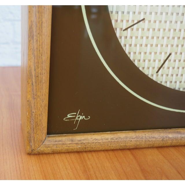 1970s Elgin Wall Clock - Image 8 of 8