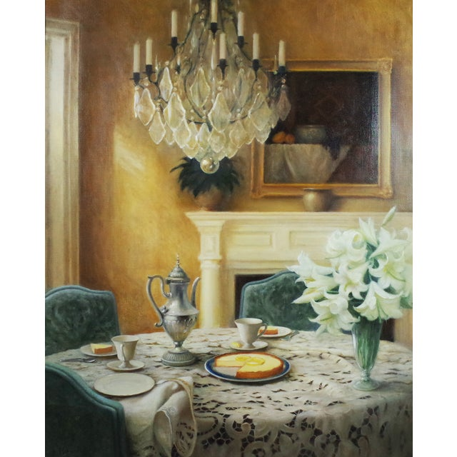 Image of Afternoon Tea Framed Painting