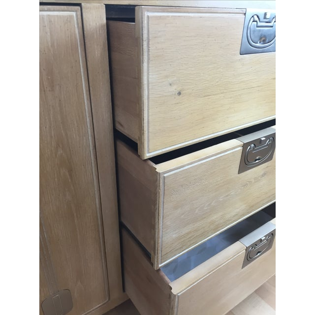 Washed Oak Henredon Dresser - Image 5 of 5