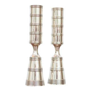 Jens Quistgaard for Dansk Candlesticks - a Pair