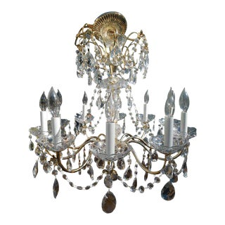 French Style Birdcage Chandelier