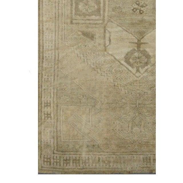 Image of Vintage Turkish Oushak Rug - 4'1''x10'11''