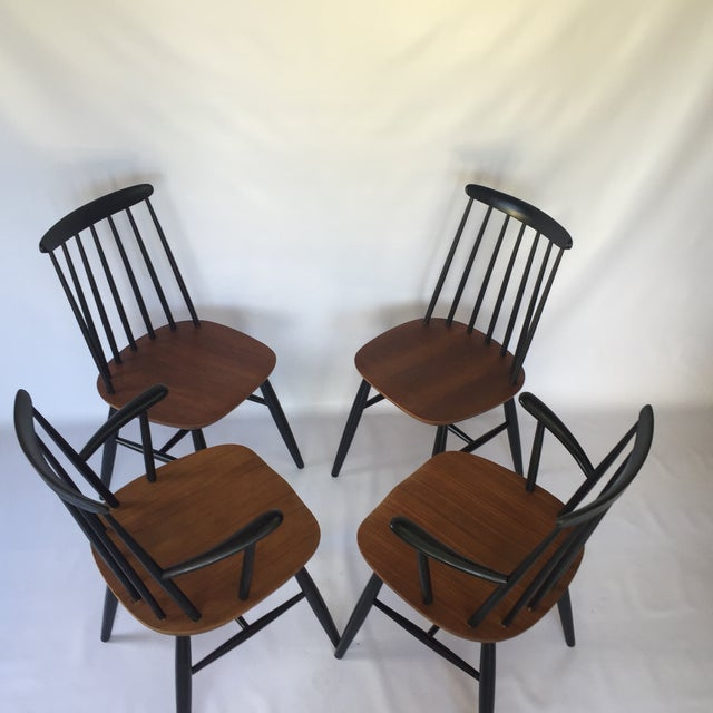 Tapiovaara-Style Dining Chairs - Set of 4 - Image 6 of 6