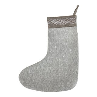 Fortuny Textile and Linen Christmas Stocking