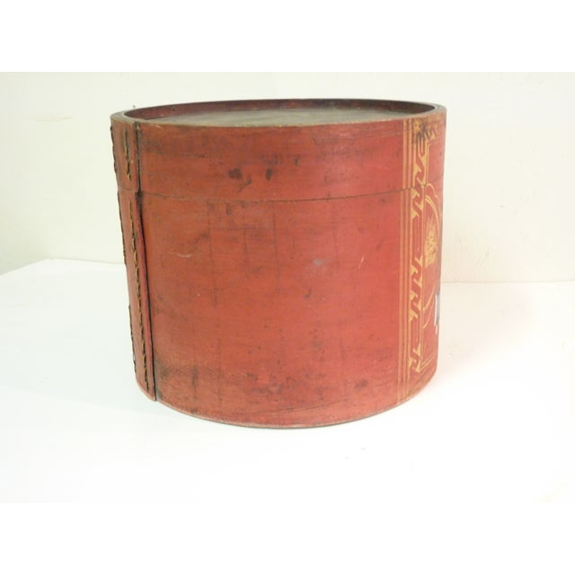 Image of Chinese Hand Painted Wooden Box