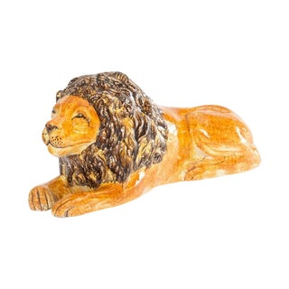 Italian Ceramic Lion