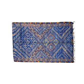 Vintage Moroccan Beni Ourain Rug - 6′8″ × 12′10″