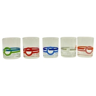 Pierre Cardin Low Ball Glasses - Set of 5