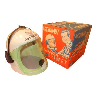 1960's Toy Space Helmet In Box