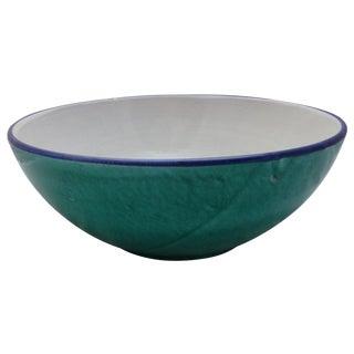 Italian Pottery Pasta Bowl