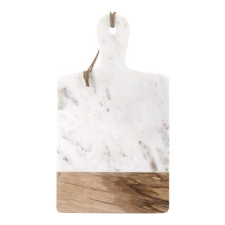 Rectangle Marble & Mango Wood Cheese Board