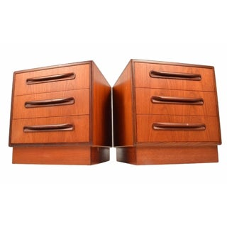 Mid-Century Teak Nightstands by G Plan - A Pair