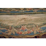 Image of Louis XV Carved Gilt & Aubusson Tapestry Canapé