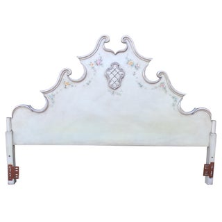 Painted King-Size Headboard