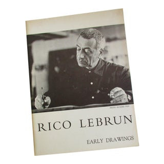 Rico Lebrun Early Drawings Exhibition Book