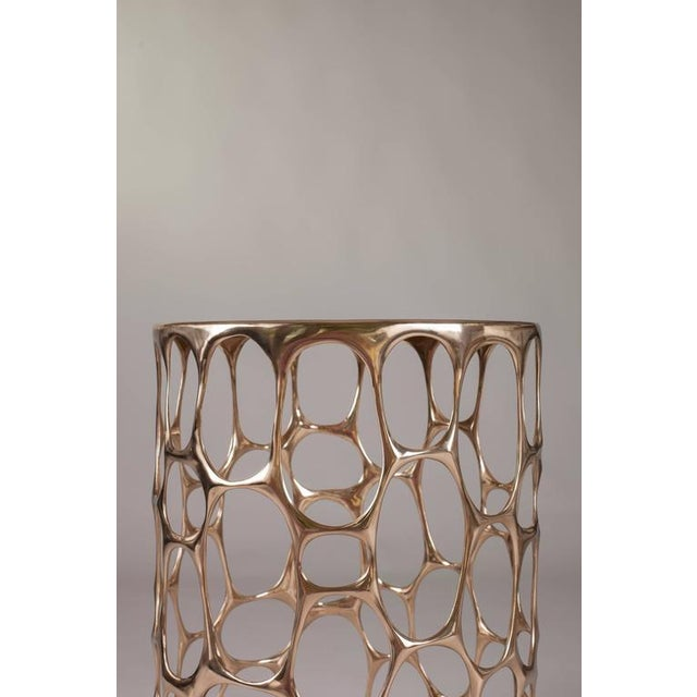 """""""Homage to Gaudi"""" Side Table by Nick King - Image 4 of 5"""