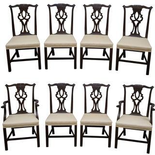 Kittinger Mahogany Dining Chairs - Set of 8