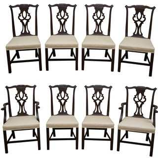 Kittinger Mahogany Dining Chairs - Set of 8