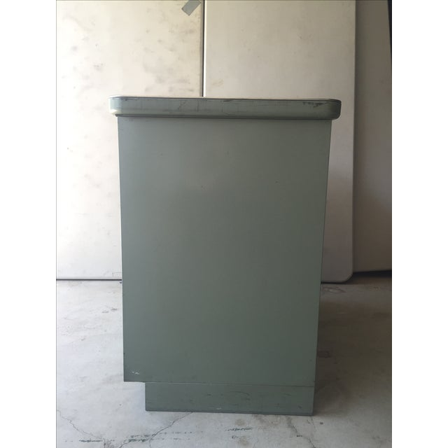 Image of 1950s Steel Case Cabinet