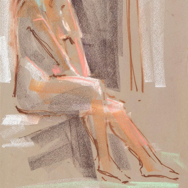 Seated Nude by Virginia Sevier Rogers - Image 3 of 6