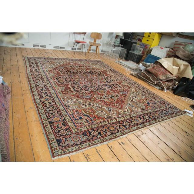 "Traditional Vintage Heriz Carpet - 8'2"" X 10'4"" - Image 2 of 10"