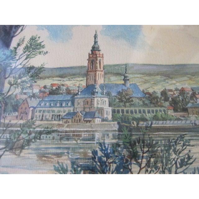 Zimmermann Vintage German Landscape Print - Image 6 of 11