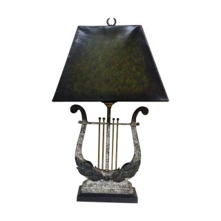 Maitland-Smith Lyre Table Lamp