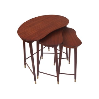 Kidney Shaped Nesting Tables