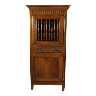 19th Century French Louis XVI Walnut Armoir