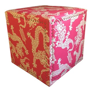 Lilly Pulitzer Home Candice Ottoman