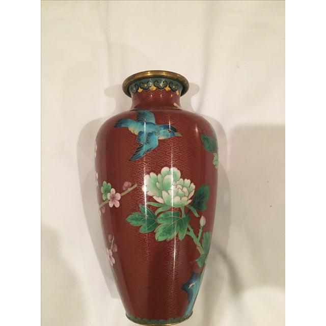 Cloisonné Vase - Image 3 of 9