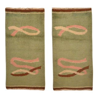 A pair of North African Art Deco Rugs