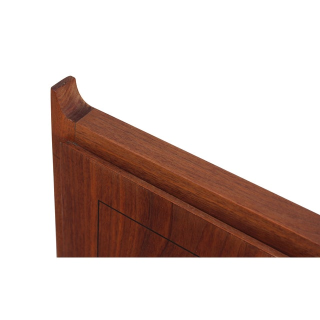 Twin Mid-Century Walnut Headboards - A Pair - Image 10 of 10