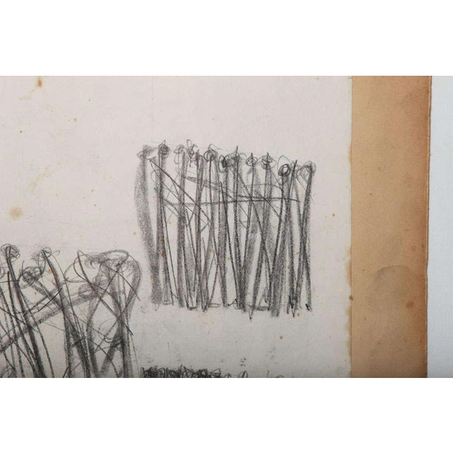 Original Charcoal Bauhaus Style Art - Image 8 of 9