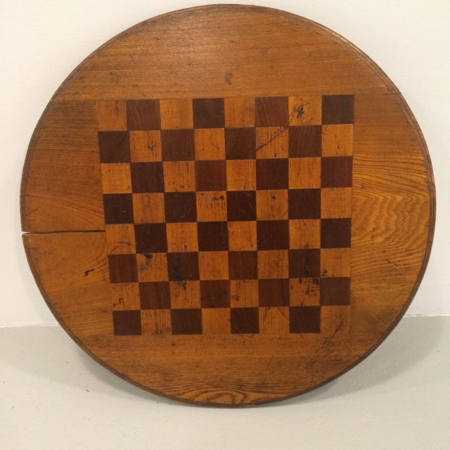 Vintage Inlay Gaming Board - Image 4 of 6