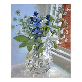 Floral Impressionist Oil Painting