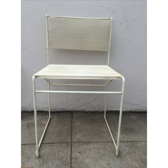 Image of Mid-Century Fly Line Spaghetti Chairs - Set of 4