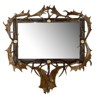 Mirror from a Bavarian Hunting Lodge