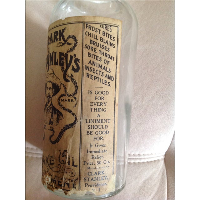 Clark Stanley's Snake Oil Apothecary Jar - Image 3 of 7
